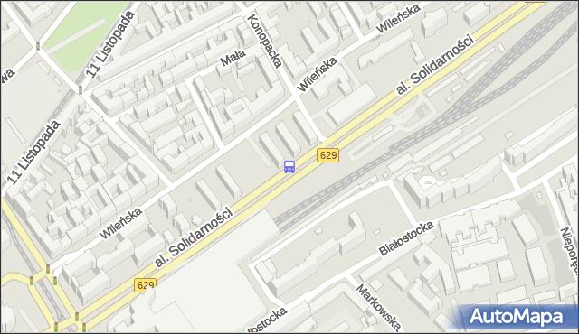 Przystanek Rzeszotarskiej 01. ZTM Warszawa - Warszawa (id 105201) na mapie Targeo