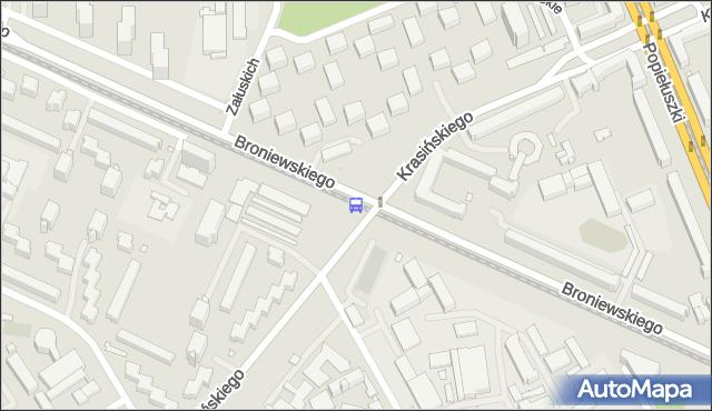 Przystanek Sady Żoliborskie 03. ZTM Warszawa - Warszawa (id 604003) na mapie Targeo