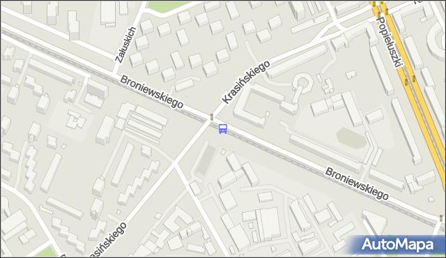 Przystanek Sady Żoliborskie 04. ZTM Warszawa - Warszawa (id 604004) na mapie Targeo