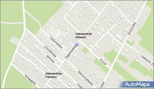 Przystanek Samorządowa 02. ZTM Warszawa - Warszawa (id 237702) na mapie Targeo