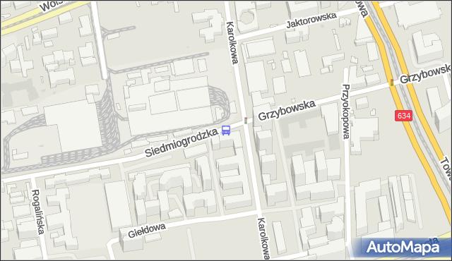Przystanek Siedmiogrodzka 01. ZTM Warszawa - Warszawa (id 509501) na mapie Targeo