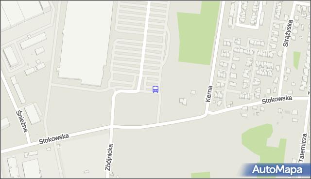 Przystanek Sikawa Centrum Handlowe. MPKLodz - Łódź (id 1734) na mapie Targeo