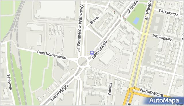 Przystanek Sikorskiego 11. ZDiTM Szczecin - Szczecin (id 20911) na mapie Targeo
