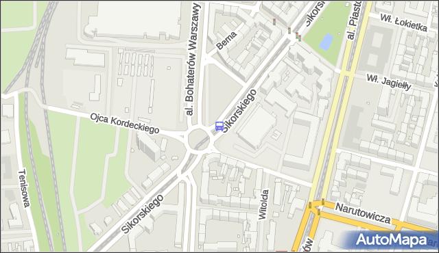 Przystanek Sikorskiego 12. ZDiTM Szczecin - Szczecin (id 20912) na mapie Targeo
