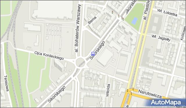 Przystanek Sikorskiego 13. ZDiTM Szczecin - Szczecin (id 20913) na mapie Targeo