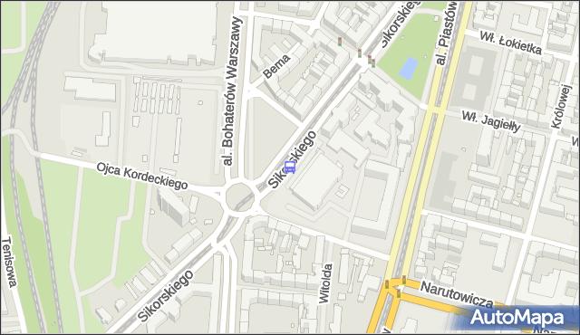 Przystanek Sikorskiego 14. ZDiTM Szczecin - Szczecin (id 20914) na mapie Targeo