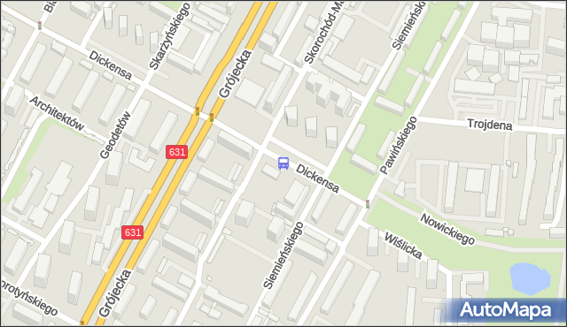 Przystanek Skorochód-Majewskiego 01. ZTM Warszawa - Warszawa (id 410701) na mapie Targeo