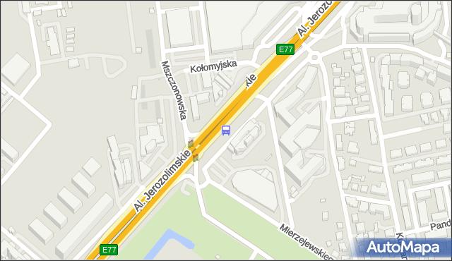 Przystanek Śmigłowca 01. ZTM Warszawa - Warszawa (id 404601) na mapie Targeo