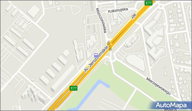 Przystanek Śmigłowca 02. ZTM Warszawa - Warszawa (id 404602) na mapie Targeo