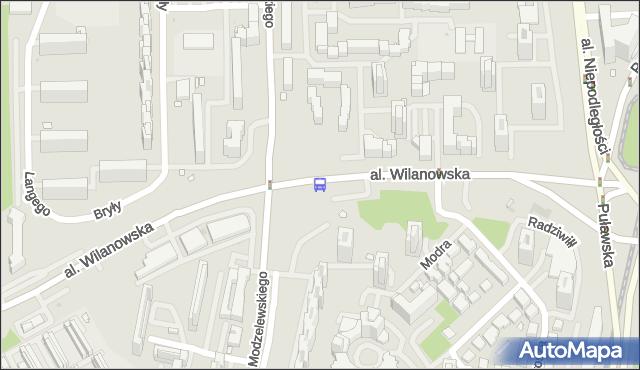 Przystanek Smoluchowskiego 03. ZTM Warszawa - Warszawa (id 311303) na mapie Targeo