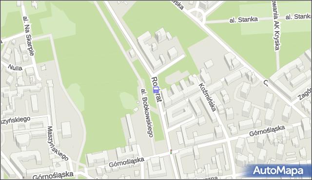 Przystanek Śniegockiej 01. ZTM Warszawa - Warszawa (id 707001) na mapie Targeo