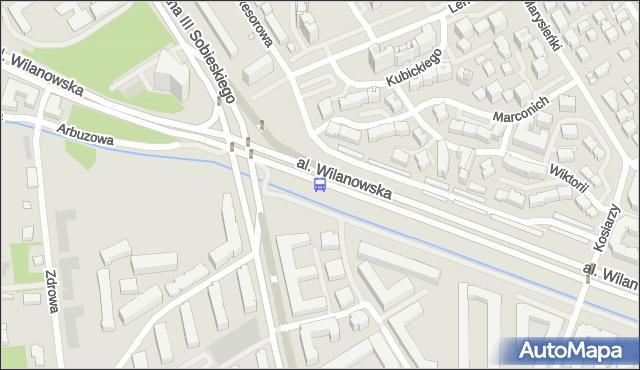 Przystanek Sobieskiego 01. ZTM Warszawa - Warszawa (id 304201) na mapie Targeo