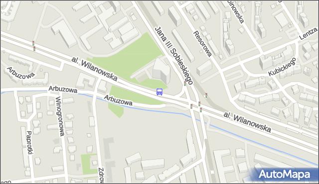 Przystanek Sobieskiego 02. ZTM Warszawa - Warszawa (id 304202) na mapie Targeo