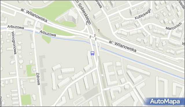Przystanek Sobieskiego 03. ZTM Warszawa - Warszawa (id 304203) na mapie Targeo