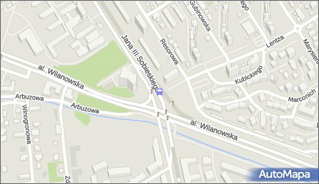 Przystanek Sobieskiego 04. ZTM Warszawa - Warszawa (id 304204) na mapie Targeo