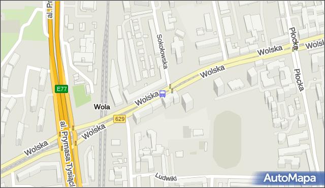 Przystanek Sokołowska 03. ZTM Warszawa - Warszawa (id 500603) na mapie Targeo