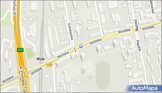 Przystanek Sokołowska 04. ZTM Warszawa - Warszawa (id 500604) na mapie Targeo