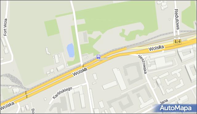Przystanek Sowińskiego 01. ZTM Warszawa - Warszawa (id 501001) na mapie Targeo