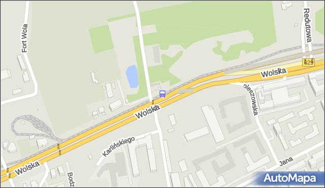 Przystanek Sowińskiego 02. ZTM Warszawa - Warszawa (id 501002) na mapie Targeo
