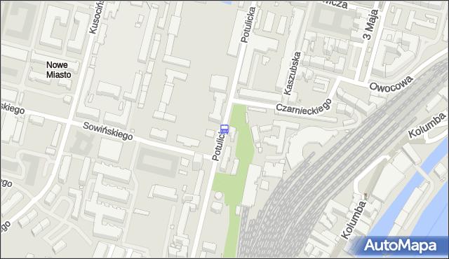 Przystanek Sowińskiego 12. ZDiTM Szczecin - Szczecin (id 23012) na mapie Targeo