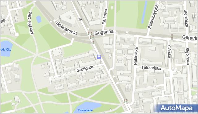 Przystanek Spacerowa 01. ZTM Warszawa - Warszawa (id 302601) na mapie Targeo