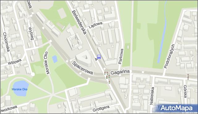 Przystanek Spacerowa 02. ZTM Warszawa - Warszawa (id 302602) na mapie Targeo