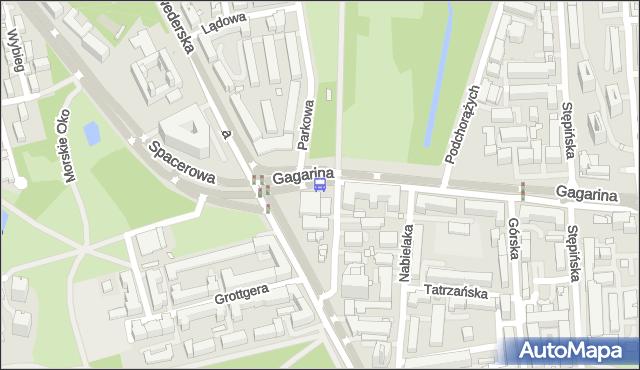 Przystanek Spacerowa 03. ZTM Warszawa - Warszawa (id 302603) na mapie Targeo