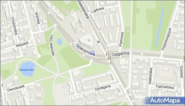 Przystanek Spacerowa 04. ZTM Warszawa - Warszawa (id 302604) na mapie Targeo