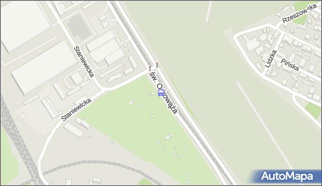 Przystanek Staniewicka 01. ZTM Warszawa - Warszawa (id 107801) na mapie Targeo