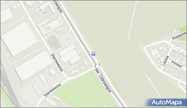 Przystanek Staniewicka 02. ZTM Warszawa - Warszawa (id 107802) na mapie Targeo