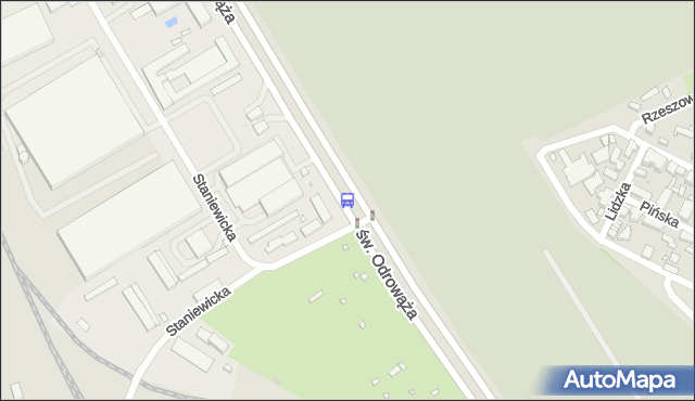 Przystanek Staniewicka 03. ZTM Warszawa - Warszawa (id 107803) na mapie Targeo