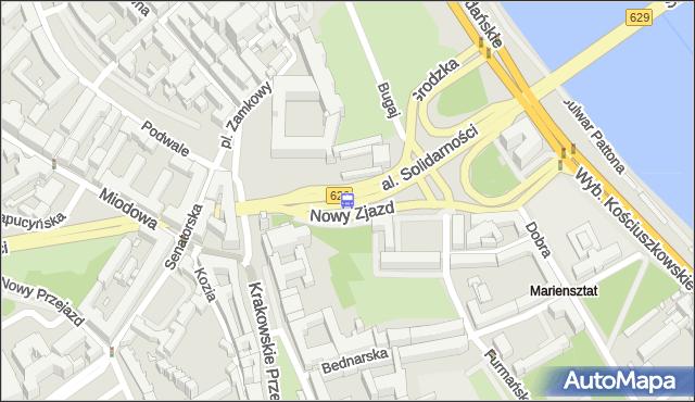 Przystanek Stare Miasto 01. ZTM Warszawa - Warszawa (id 704701) na mapie Targeo