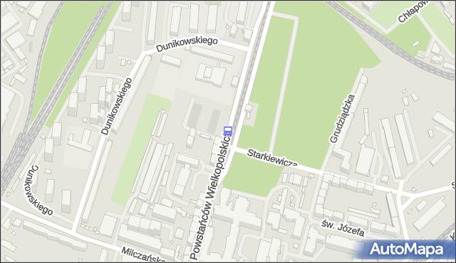 Przystanek Starkiewicza 11. ZDiTM Szczecin - Szczecin (id 21311) na mapie Targeo