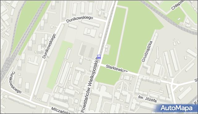Przystanek Starkiewicza 12. ZDiTM Szczecin - Szczecin (id 21312) na mapie Targeo