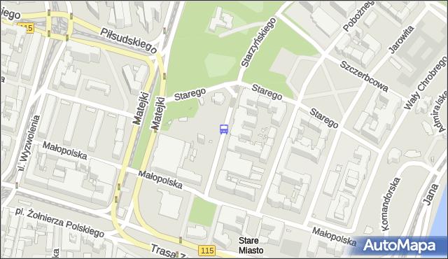 Przystanek Starzyńskiego 11. ZDiTM Szczecin - Szczecin (id 13911) na mapie Targeo
