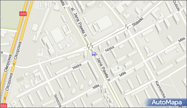 Przystanek Stawki 06. ZTM Warszawa - Warszawa (id 708406) na mapie Targeo