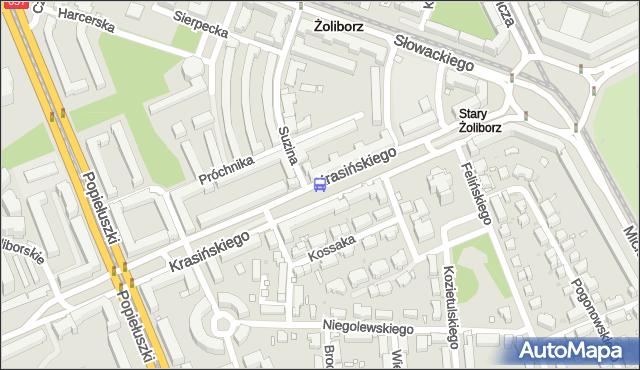 Przystanek Suzina 02. ZTM Warszawa - Warszawa (id 609802) na mapie Targeo