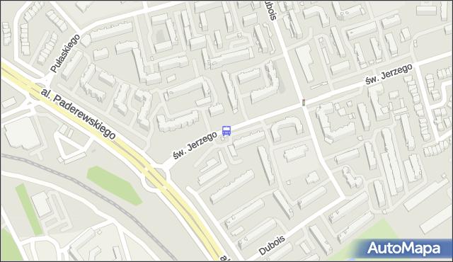Przystanek Św. Jerzego. BKM - Białystok (id 392) na mapie Targeo