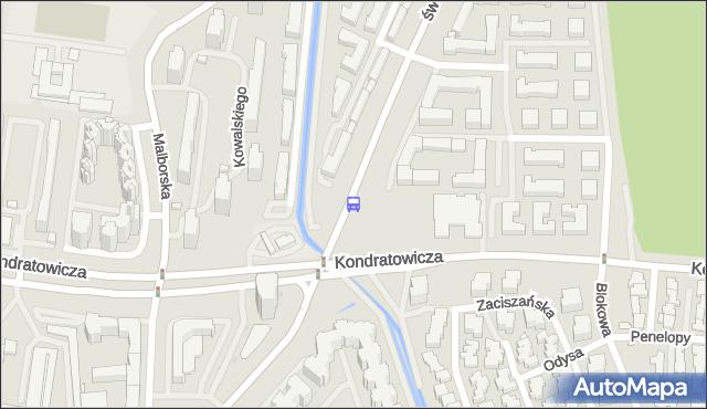 Przystanek św.Wincentego 02. ZTM Warszawa - Warszawa (id 128202) na mapie Targeo
