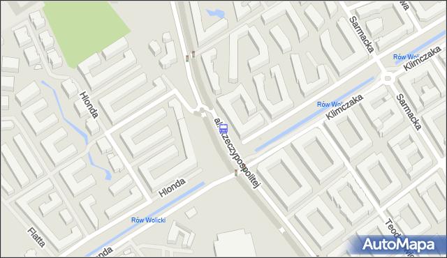 Przystanek Świątynia Opatrzności Bożej 02. ZTM Warszawa - Warszawa (id 335402) na mapie Targeo