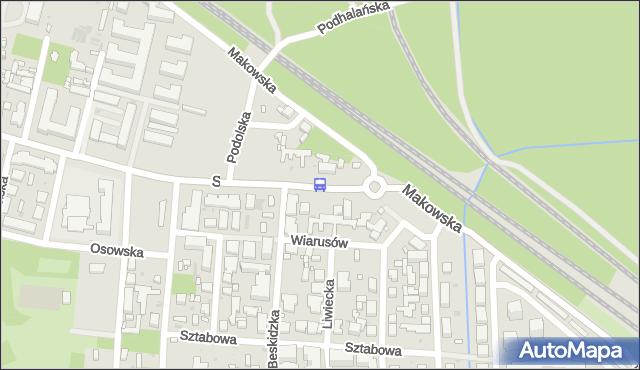 Przystanek Szaserów 01. ZTM Warszawa - Warszawa (id 226801) na mapie Targeo