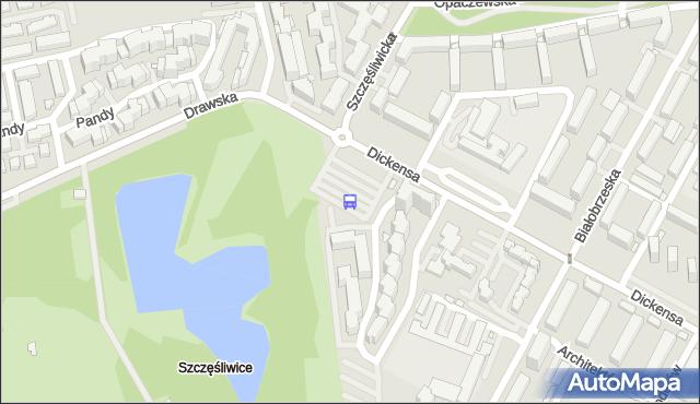 Przystanek Szczęśliwice 04. ZTM Warszawa - Warszawa (id 411904) na mapie Targeo