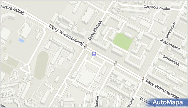 Przystanek Szczęśliwicka 01. ZTM Warszawa - Warszawa (id 415401) na mapie Targeo