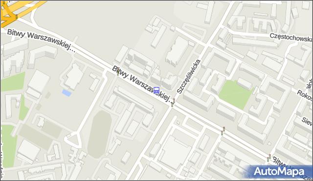 Przystanek Szczęśliwicka 02. ZTM Warszawa - Warszawa (id 415402) na mapie Targeo