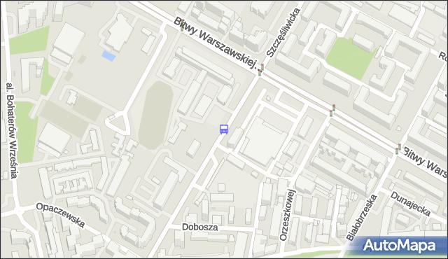 Przystanek Szczęśliwicka 03. ZTM Warszawa - Warszawa (id 415403) na mapie Targeo