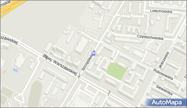 Przystanek Szczęśliwicka 04. ZTM Warszawa - Warszawa (id 415404) na mapie Targeo