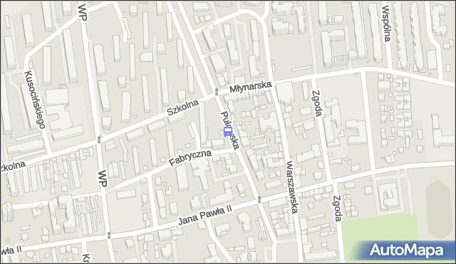 Przystanek Szkolna 01. ZTM Warszawa - Warszawa (id 316301) na mapie Targeo