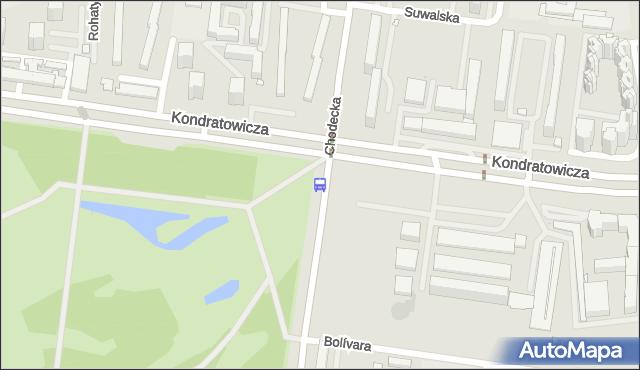 Przystanek Szpital Bródnowski 03. ZTM Warszawa - Warszawa (id 114703) na mapie Targeo