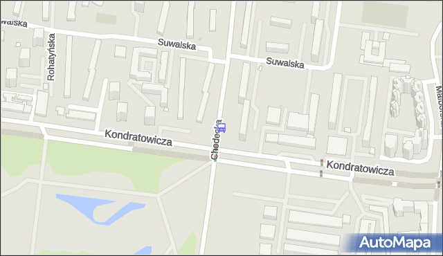 Przystanek Szpital Bródnowski 04. ZTM Warszawa - Warszawa (id 114704) na mapie Targeo