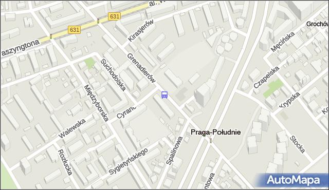 Przystanek Szpital Grochowski 02. ZTM Warszawa - Warszawa (id 212902) na mapie Targeo